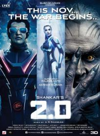 2 0 (2018) Hindi 480p NEW PreDvDRip x264 AAC Full Bollywood Movie