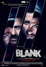Blank 2019 480p PreDVD Rip 700MB Hindi Movie x264 CineVood Exclusive