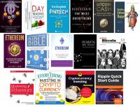 15 Assorted Cryptocurrency Books - May 2019