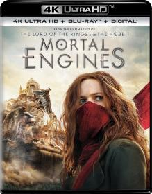 Mortal Engines (2018) 2160p HDR 10bit BluRay x265 HEVC [Org DD 5 1 Hindi + DD 5 1 English] ESubs ~