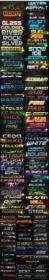 DesignOptimal - 132 Awesome Text Effects & Styles for Photoshop