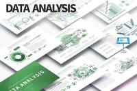 DesignOptimal - Data Analysis - Keynote Infographics Slides