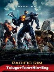Pacific Rim 2 Uprising (2018) 1080p BRRip Original [Telugu + Tamil + Hindi + Eng] 2GB ESub