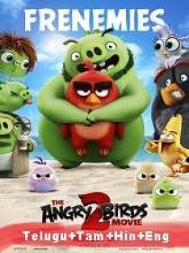 The Angry Birds Movie 2 (2019) 1080p BluRay - HQ Line [Telugu + Tamil + Hindi + Eng] 1 6GB ESub