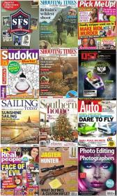 50 Assorted Magazines - November 08 2019