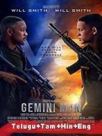 Gemini Man (2019) 720p Blu-Ray Original [Telugu + Tamil + Hindi + Eng] 1.3GB ESub