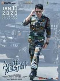 Sarileru Neekevvaru (2020) 720p Telugu DVDScr x264 MP3 900MB