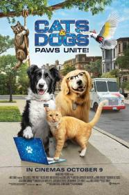 Cats and Dogs 3 Paws Unite 2020 720p WEBRip 800MB x264<span style=color:#39a8bb>-GalaxyRG[TGx]</span>